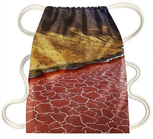 IRocket-Soda Formazione nel lago natron Tanzania-coulisse zaino borsa sacco