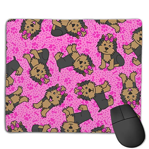Party (Pink) Computers Thick Keyboard Non-Slip Rubber Base Mouse pad Mat 7 X 8.6 inch