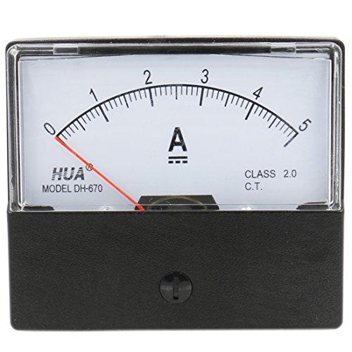heschen Rechteck Panel Mounted Current Meter Amperemeter Tester dh-670DC 0-5A Klasse 2.0CE-gelistet Current Meter Amperemeter