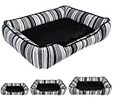 WOLTU HT2015sf Canvas Stripes Zebra Dog Cave Bed...