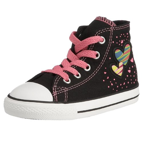 Converse - Sneaker , Unisex - bambini nero (Black/Bubble Gum)