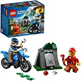 LEGO City Police Off-Road Chase  Building Blocks for Kids 5 to 12 Years (37 Pcs) 60170