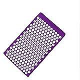 KKCD - Agopressione Stuoia di Massaggio Stuoia di Yoga, Stuoia di Sport Mat di Yoga Digitopressione 68 * 42 Cm (Color : Purple)