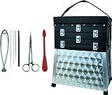Storfisk fishing & more Aluminium Sitzkiepe verschließbar mit Schultertragegurt und Werkzeugen Set