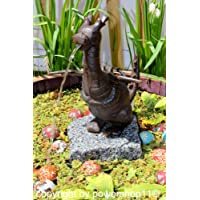 """Wasserspeier """"Drache"""" aus Gusseisen, Höhe 26 cm"""