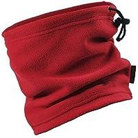 Butterme Unisex Invierno Cálido 3 en 1 Cuello Snood / Bufanda / Sombrero / Máscara Polar Fleece Multi Use Outdoor Snowboard de Esquí Accesorios Calientes(Rojo)