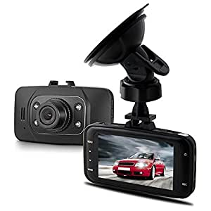 "Kkmoon GS8000L 2.7"" TFT LCD Display 1080P 140° Wide Angle Lens Car DVR Vehicle Camera Recorder G-sensor Motion Detection IR Night Vision"