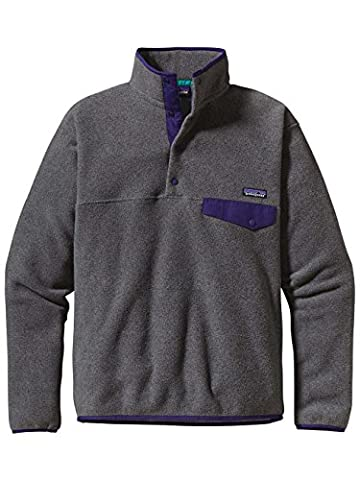 Patagonia Pull M's LW Synch Snap-T P/O - EU Fit Nickel Large