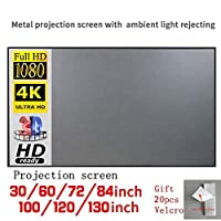 Anecity Outdoor Projector Screen,Projector Screen 16:9 HD Foldable Anti-Crease Portable Projection Movies Screen Full HD 1080P Supported for Home Cinema Theater Outdoor (100 inch)