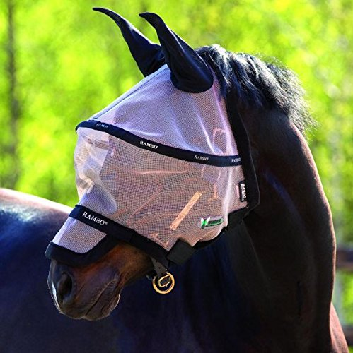 Horseware Rambo Plus Fly Mask Vamoose Gesichtsmaske Größe WB -