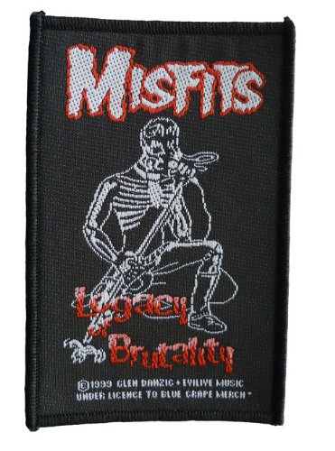 Misfits - Patch Legacy Brutality (in 10 cm x 6 cm)