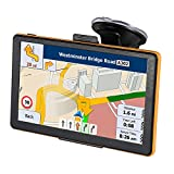 7 Inches Sat Nav Car Truck GPS Navigation with Touchscreen Include UK