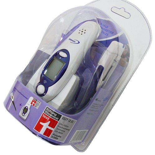 Zwei verschiedene Thermometer zum Preis von Einem: Dittmann Stirn- / Ohrthermometer plus digitales Dittmann Fieberthermometer Ohr Stirn Thermometer Babythermometer