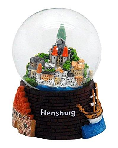 30041 Souvenir palla di neve Flensburg 65 mm