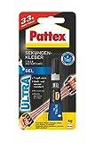 Pattex Sekundenkleber Ultragel +33% mehr Inhalt, 1 Stück, PSG2M
