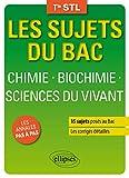 Chimie Biochimie Sciences du Vivant Terminale Stl...