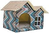ZPP-Productos para mascotas de lujo caliente mascotas dog house cat litter ideas,azul