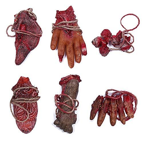 Halloween Requisiten Körperteile - XONOR Halloween blutigen Requisiten gefälschte unheimlich
