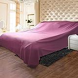 DSAQAO Sofabezug Tasche Tuch Staub, Bett Staubschutz Schützende Möbeldecken-A 600x270cm(236x106inch)