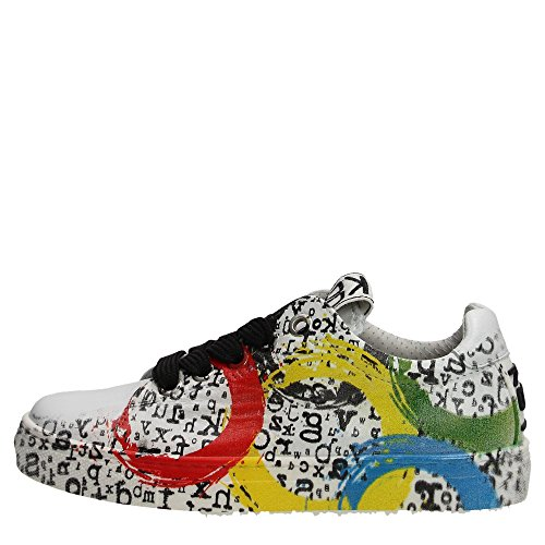 Kool 150.21 Sneakers Bambino Pelle Bianco Bianco 34