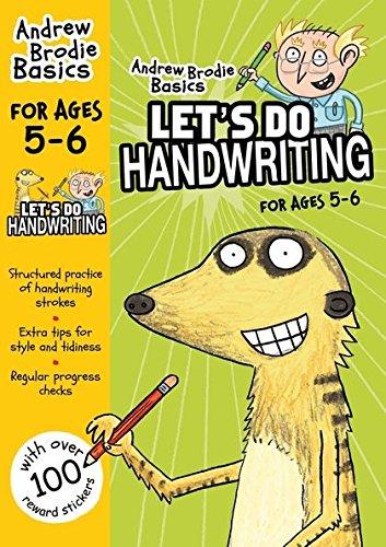 Let's do Handwriting 5-6 (Andrew Brodie Basics)