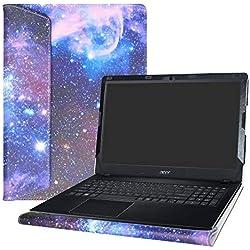 """Alapmk Schutz Abdeckung Hülle für 15.6"""" Acer Aspire E5 E5-575 E5-575G E5-575T E5-576 E5-576G E5-553 E5-553G/Aspire F 15 F5-573G F5-573/Aspire ES 15 ES1-572 ES1-533 Series Notebook,Galaxy"""