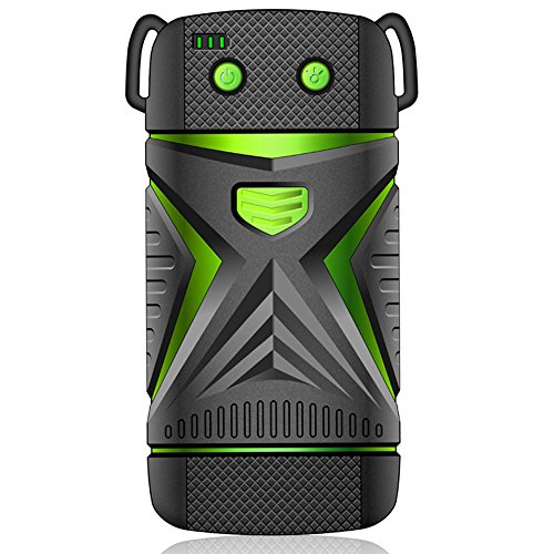 INOV8Lithium-Ion pre-charged Handheld, caricatore portatile, batteria esterna con LCD Display. Torcia integrata. Affidabile e sicuro per iPhone, iPad, Samsung, Nexus, HTC, go Pro and mo