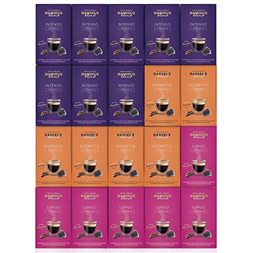 DANIELS BLEND - 200 Cápsulas de Café Compatibles con Máquinas Nespr