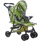 #7: Outgeek Baby Stroller Rain Cover Transparent Waterproof Stroller Weather Shield