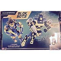 Mega Bloks Transforming Blok Bots Scuba Team 9341