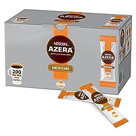 NESCAFÉ AZERA Americano Instant Coffee Stick Packs, Box of 200