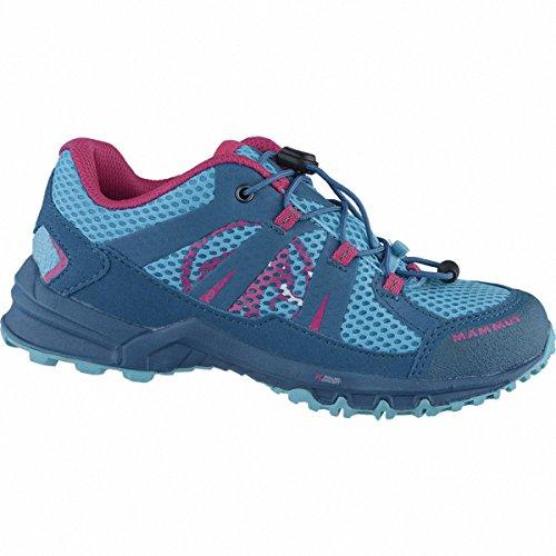 Mammut First Low Kids Backpacking/Hiking Footwear (Low) dark pacific-pink