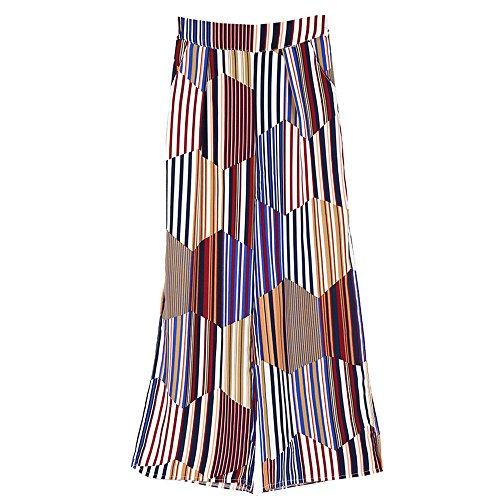 QJH -  Pantaloni  - Donna Purple A