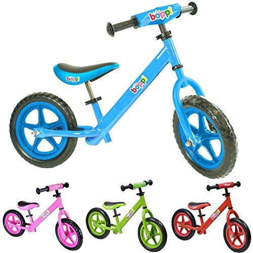 Vélo draisienne en métal boppi® pour développer l'équilibre de 2 à 5 ans - Bleu