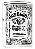 Zippo 16830 Jack Daniels - Chrome high Polished - Spring 2017 Feuerzeug, Chrom, Silber, 5.8 x 3.8 x 2.0 cm