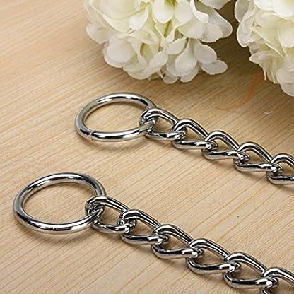 Kungfu Mall Pet Strong Steel Metal Training Pet Choker Chain Collar (L) 8