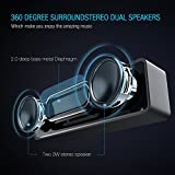 SoundCorePortable-Bluetooth-Speaker-42-AOOE-Stereo-Wireless-Speaker-with-Strong-Bass-12-Hour-Playtime-69-ft-Bluetooth-Range-Built-in-Noise-Reduction-Mic-for-Hands-free-Calling-Dual-Driver-Loudspeaker-