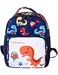 4a031fa0f9ed Cute Kids Cartoon Dinosaur Backpack Toddler School Bag for Boys