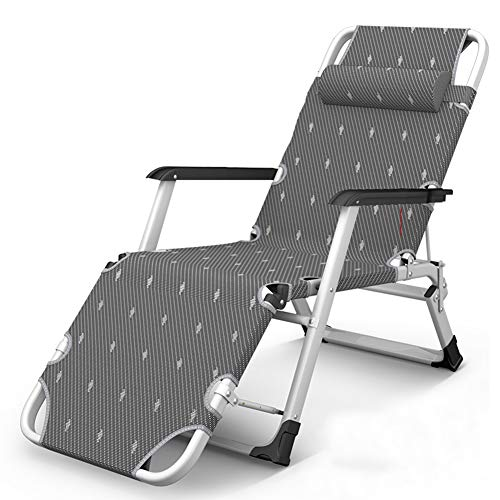 Schwerelosigkeit Stuhl Liege, verstellbar/gefaltet/Wattepad, tragbarer Stuhl für den Außenbereich und zu Hause