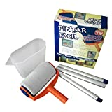 #9: CONNECTWIDE® Paint Runner Roller Pro Professional Multifunction Reusable Paint Brush 8 Pack Set – Transform Your Home in Minutes (ABS Roller Set Painting Brush Point N Paint Household Wall Decorative Tool)- Colors may vary