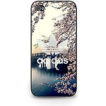 Unique Bridge and Floral Background Adidas Phone Case Cover for Iphone 5C Adidas Luxurious Design