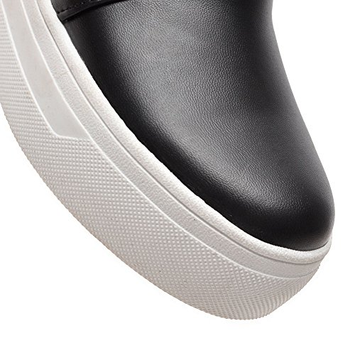 Balamasaapl10171 - Chaussures Plateforme Femme Noires