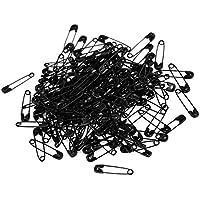 Pasador de seguridad - TOOGOO(R)Pasador de seguridad herramientas de fijacion de metal tono de negro de 100 piezas de 0.8 x 0.2 pulgadas