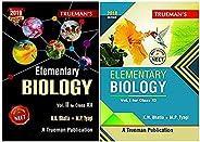 Trueman Elementary Biology for NEET - Class XI & XII - Vol. 1 & 2 (Set of