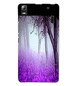 ColourCraft Forest View Design Back Case Cover for LENOVO K3 NOTE