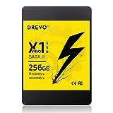 Solid State Drive, 2,5-Zoll-SATA-III-Interne Datenspeicher Solid-Festplatte X1-Serie für PC Laptop Desktop (256GB X1 Pro)