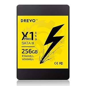 Unit¨¤ a stato solido da 256 GB, memoria interna SATA III da 2,5 pollici Unit¨¤ disco rigido solida Serie X1 per PC Laptop Desktop (256 GB, X1 Pro)