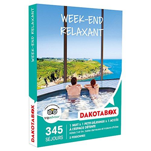 DAKOTABOX - Coffret Cadeau - WEEK-END RELAXANT - hôtels 3 et 4*, belles demeures et...