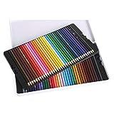 Muhui Matite Colorate 72 Colore,Profes Matita Oleosa Imballaggio Squisitamente in Ferro (72)