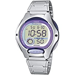 Casio Collection - LW-200D-6AVEF - Montre - Femme - Gris/Violet - Taille unique